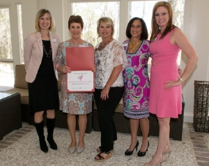 Mammograms in Motion project receiving award